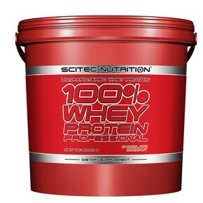 Scitec Nutrition 100% Whey Protein Professional banán